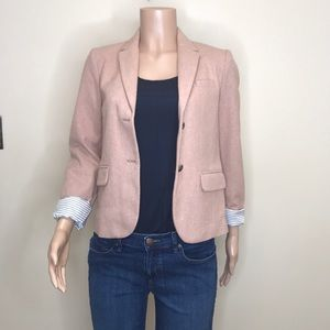 New with tag GAP Academy pink herringbone blazer